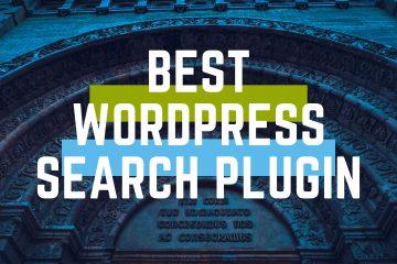 Best wordpress search plugin