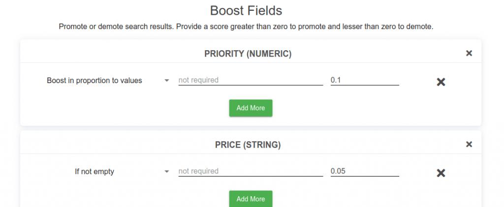 BOOSt fields
