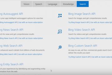 bing site search