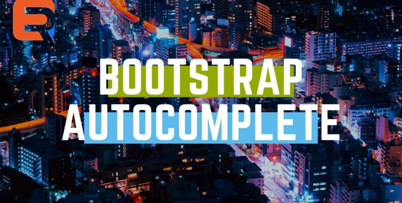 bootstrap autocomplete