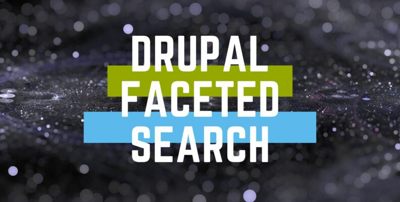 drupal faceted search