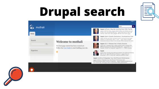 Drupal search