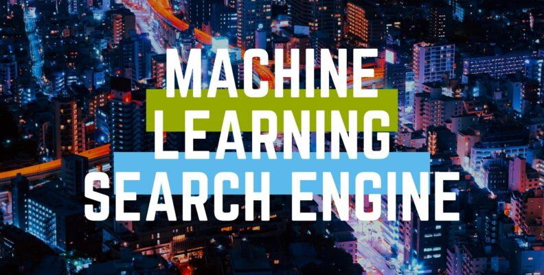 machine learning search engine