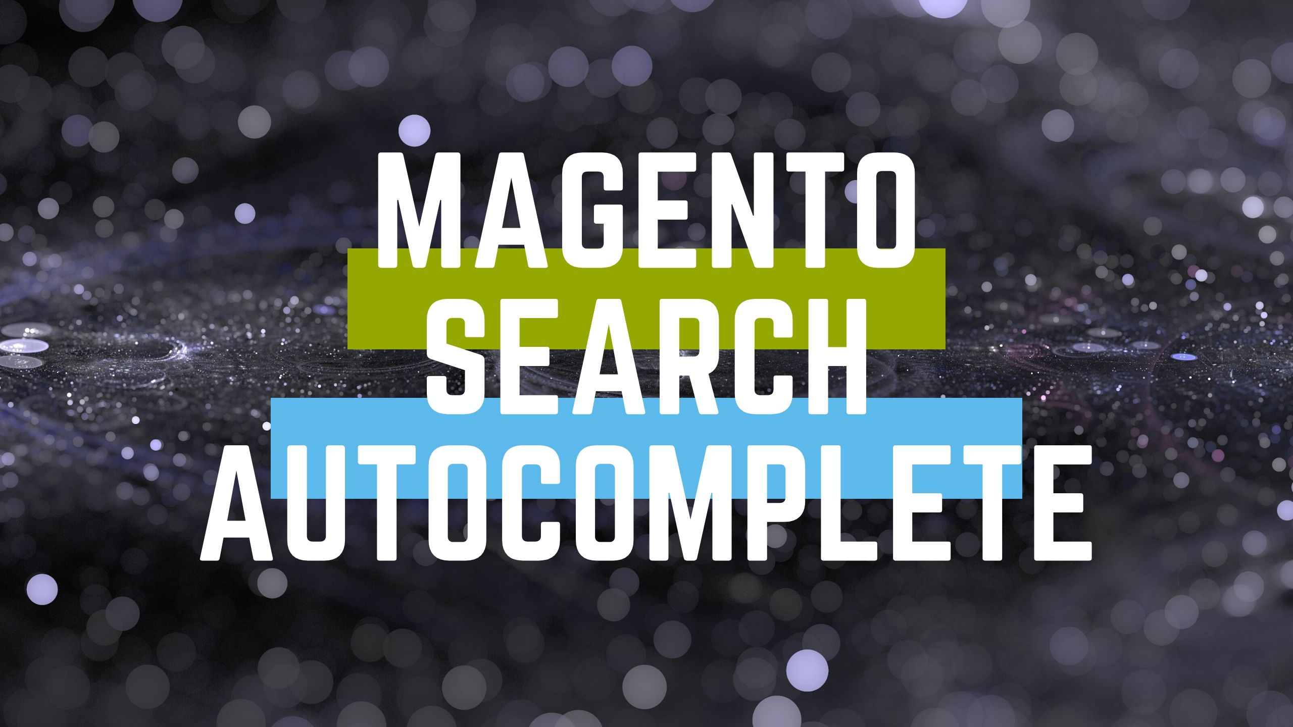 magento search autocomplete