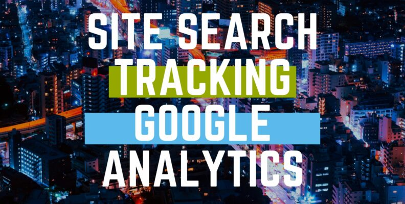 site search tracking google analytics