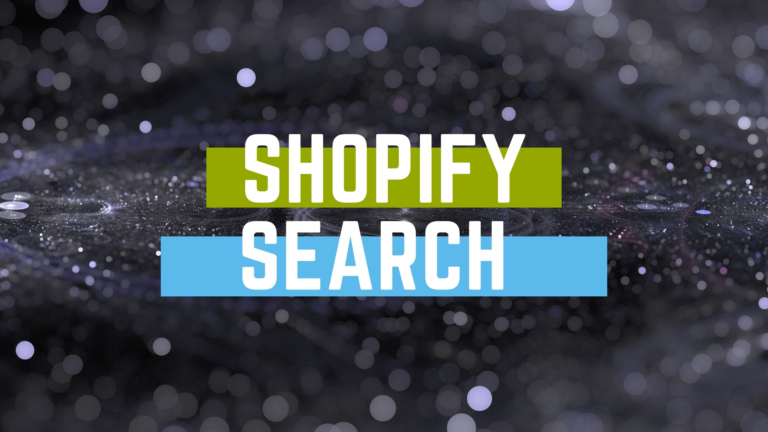 shopify search