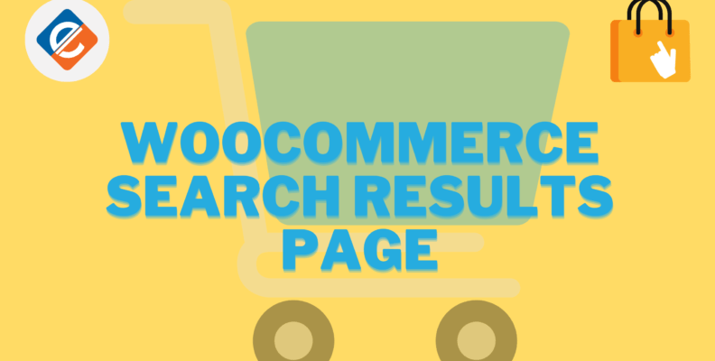 Woocommerce Search Results Page