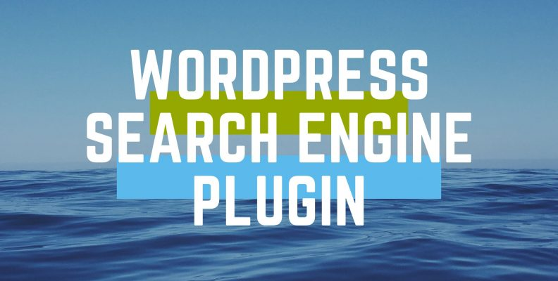 Wordpress search engine plugin