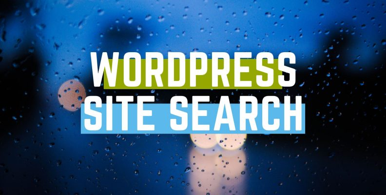 wordpress site search