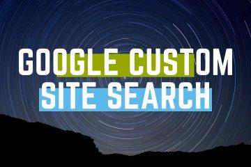 google custom site search