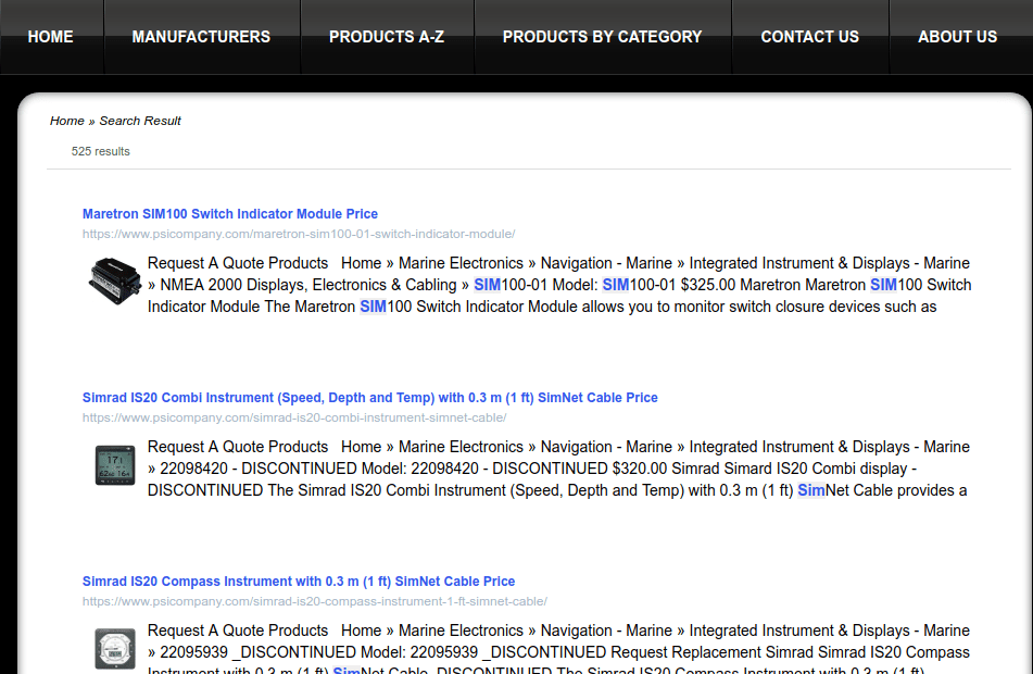 WordPress Custom Search Results Page
