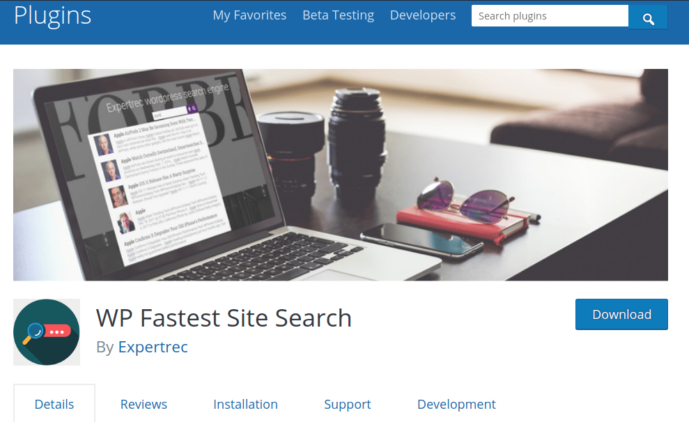 faceted wordpress search