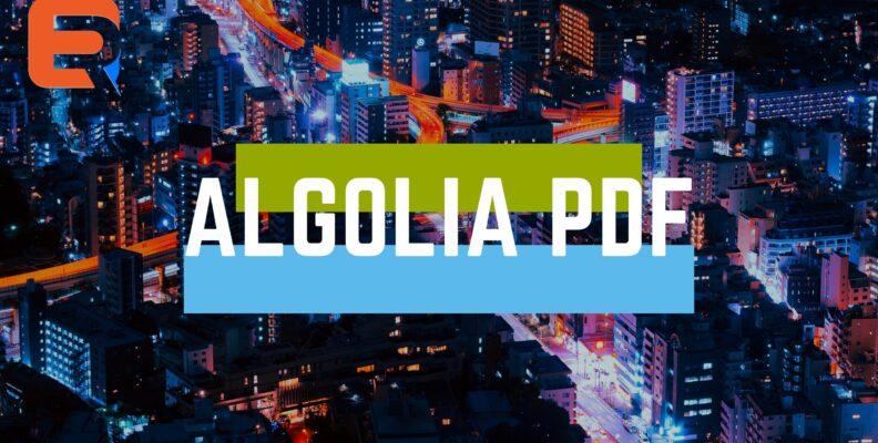 ALGOLIA PDF