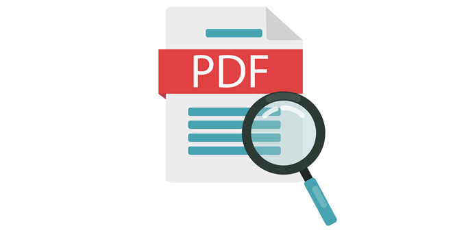 PDF Search Feature
