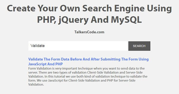 Build a Custom Search Engine With PHP