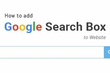 how to put google search on your website