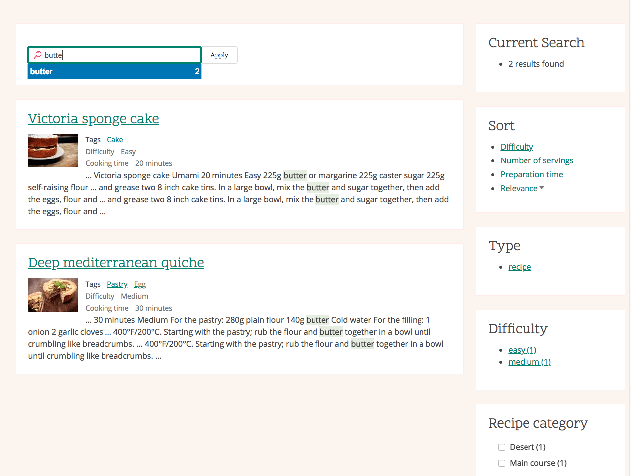 Drupal 7 Custom Search Results