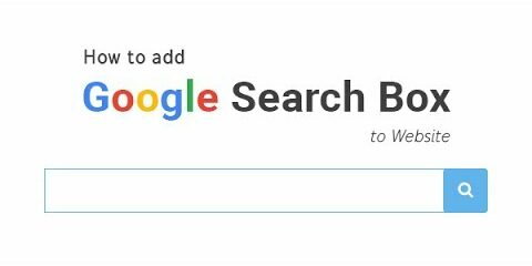 add google search widget to website
