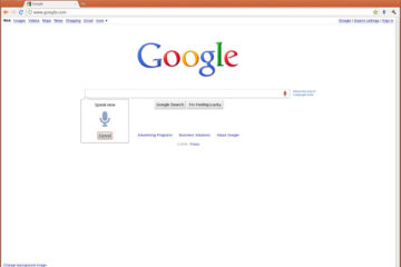 use Google search Box for Website Extension