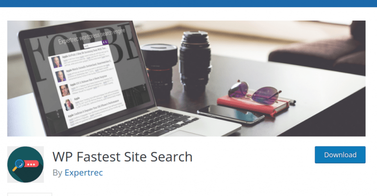 how to install WP fastest site search plugin
