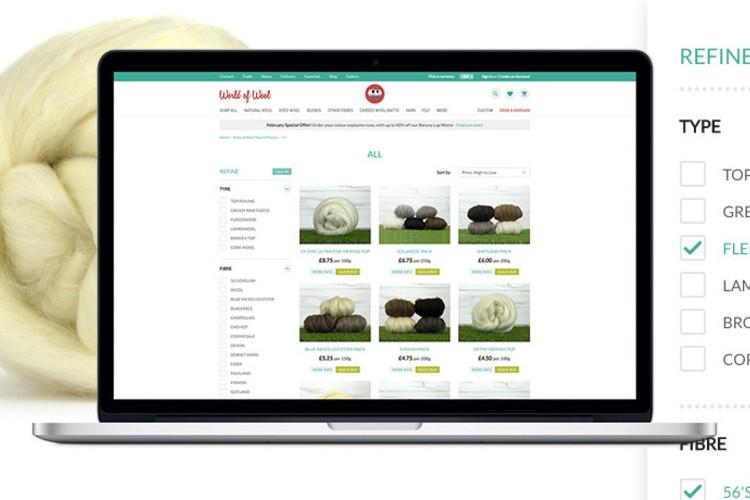 Shopwired Search Engine