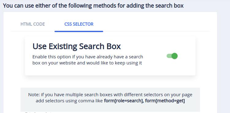 Enable Shopwired Custom Search