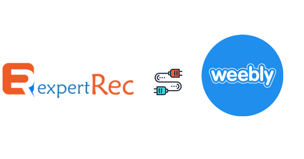 How to integrate expertrec search to weebly website