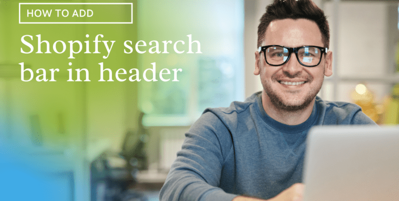 Add Shopify search bar in header