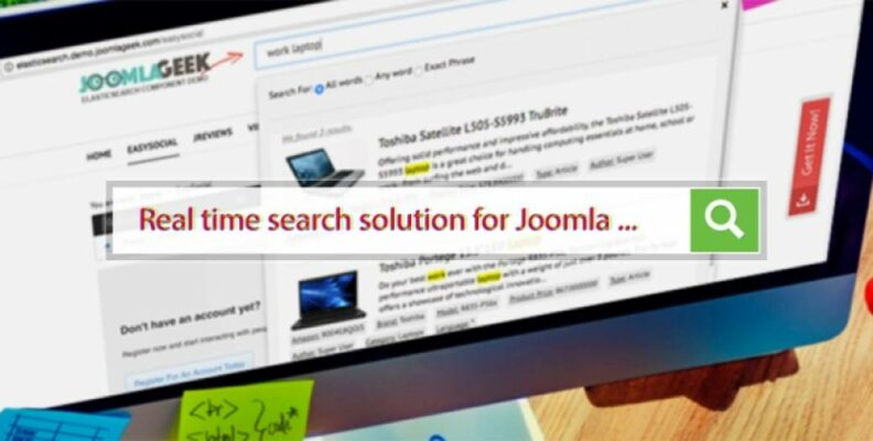Search Module for your Joomla websites that you should try in 2021