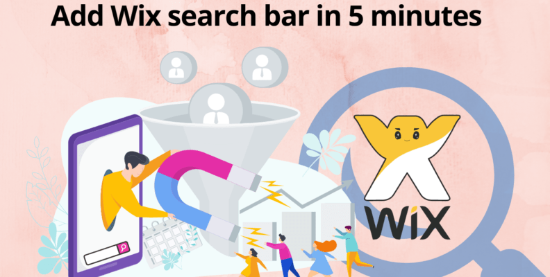 Add Wix search bar in 5 minutes