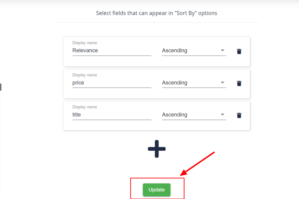 Update to make sure the changes for wix filter search