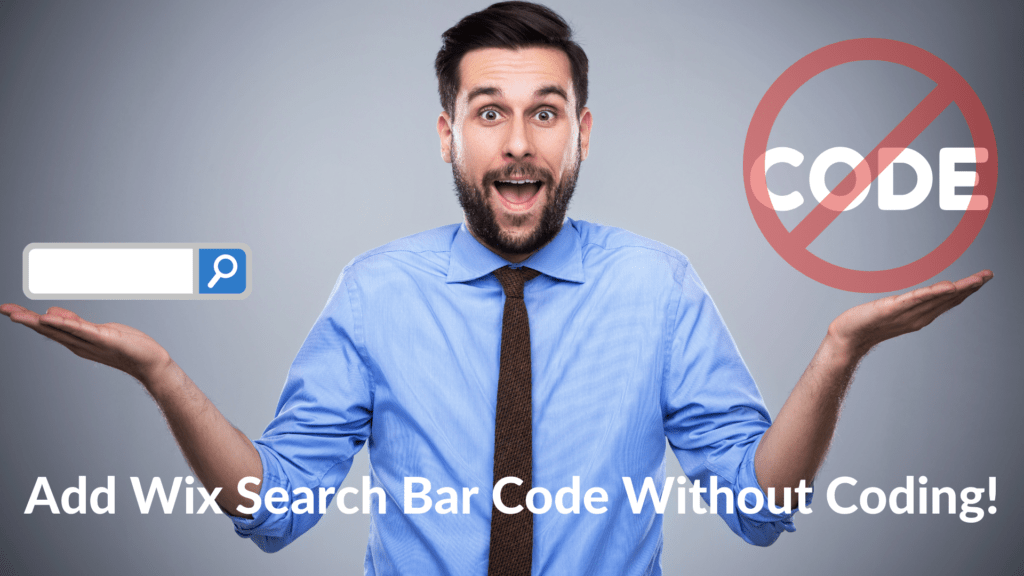 Apply ExpertrecSteps to Add Wix Search Bar Code Without Coding