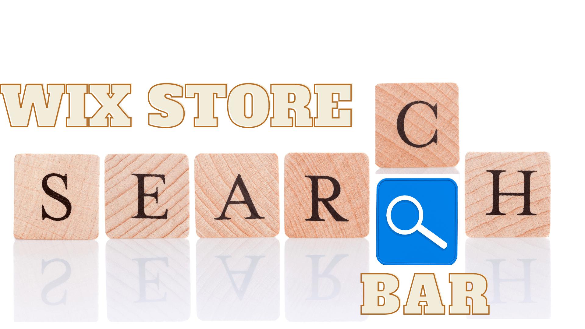 A mini guide to add wix store search bar