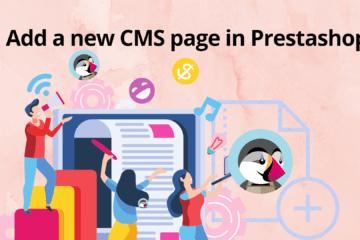Add a new CMS page in Prestashop