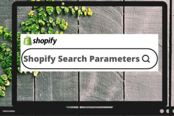 Shopify Search Parameters