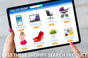 Everything you need to know about Shopify Search Products