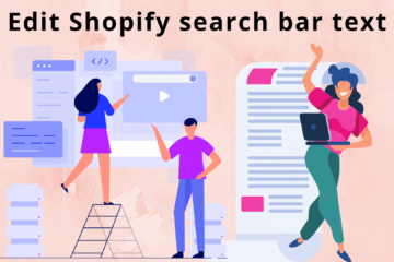 Edit the text inside shopify search bar