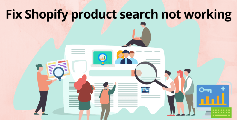 Fix Shopify product search not working in less than 5 minutes